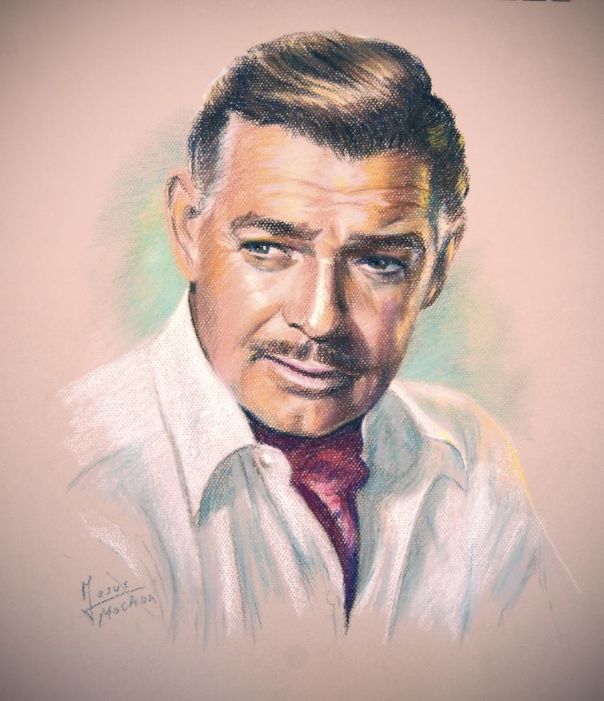 Clark Gable par jesusmochon